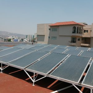 Sistemas de calentadores solares para Edificios de Departamentos Sunway Solar