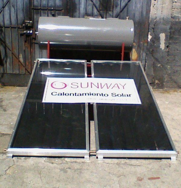 Sistema de paneles solares350 Lts Sunway Solar