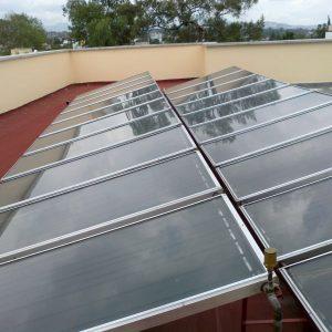 Sistema de calentadores solares para residencias de lujo Sunway Solar