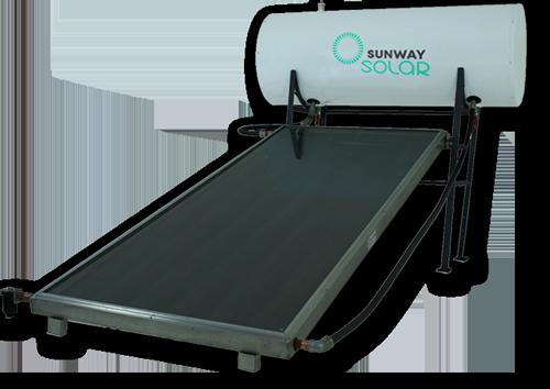 Sistema completo de calentados solar de autoinstalación SUNWAY